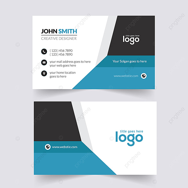 Double Sided Business Card Design For Personal And Business Use
