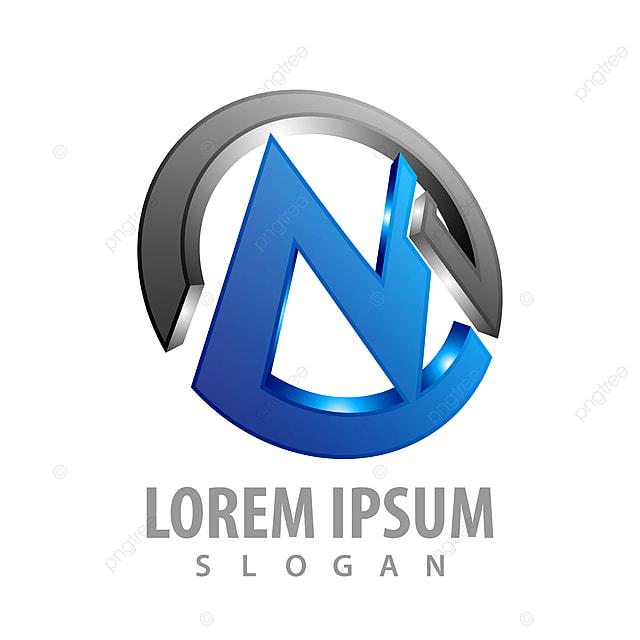 Circle Initial Letter M Logo Concept Design Symbol Graphic