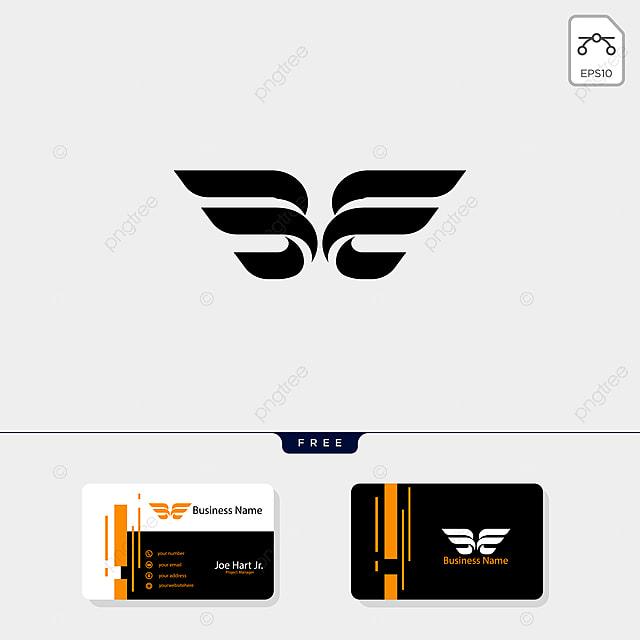 Kostenlose Visitenkarte Design Template Eine Erste Flügeln
