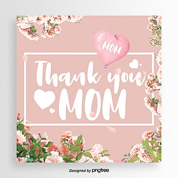 Fashionable and Aesthetic Thanksgiving Mothers Day Festival Card, Card, Aestheticism, Propaganda PNG and PSD