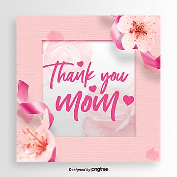 Thanksgiving Mothers Day Simple Aesthetic Style Card, Card, Aestheticism, Propaganda PNG and PSD