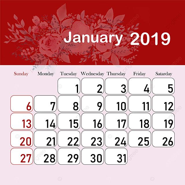 Modelli Calendario 2019.Mese Del Calendario 2019 Modello Per Il Download Gratuito