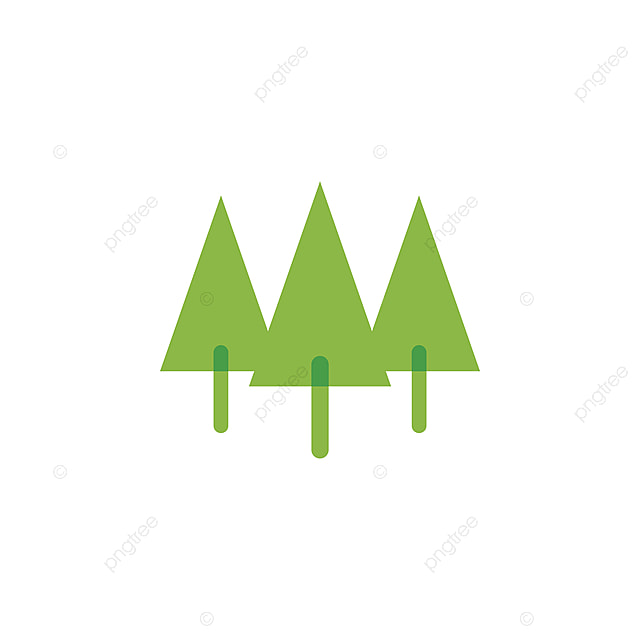 pine tree illustration template for free download on pngtree