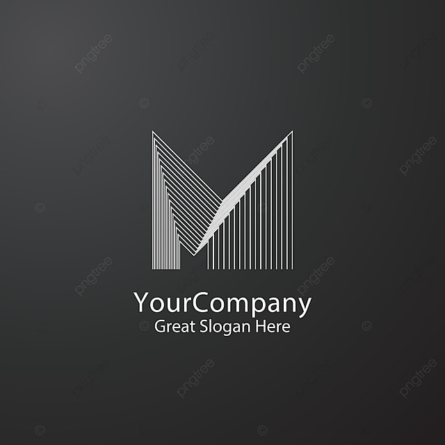 Letter M Logo Design Concept For Corporate Business Or