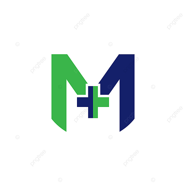 M Letter Hospital Logo Template For Free Download On Pngtree