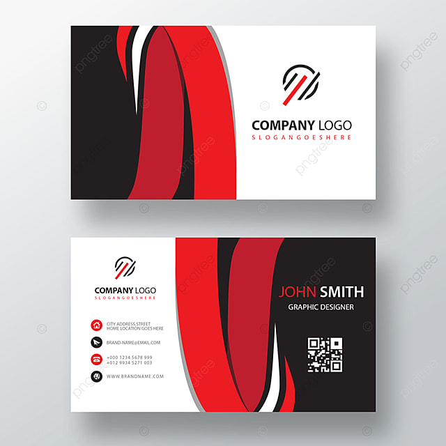 Line Card Examples: Creative Line Business Card Template Template For Free