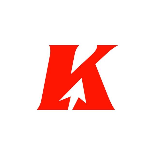 K Brief Pfeil Logo Vorlage Zum Kostenlosen Download Auf Pngtree