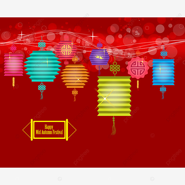 background for traditional of chinese mid autumn festival