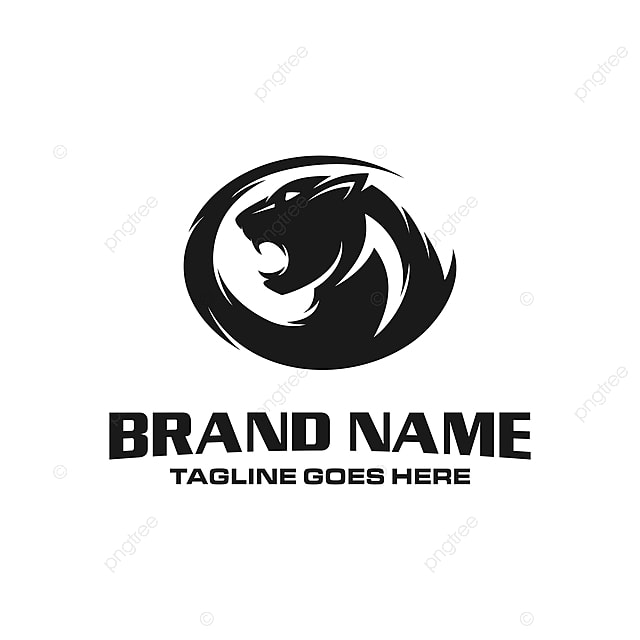 Panther Head Logo Template for Free Download on Pngtree