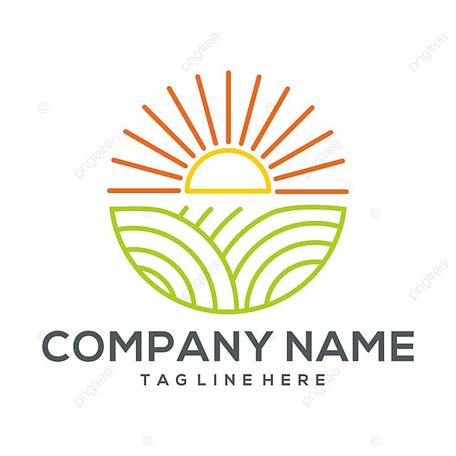 Landwirtschaft Logo Icon Und Illustration Vorlage Zum