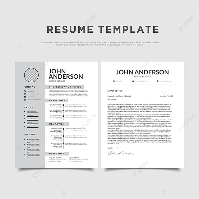 Clean Resume Templates Template For Free Download On Pngtree