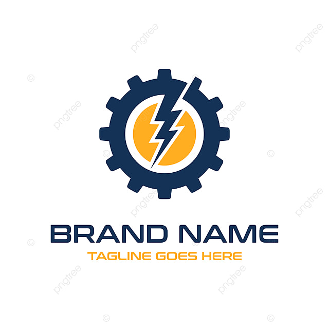 Electric Mechanical Logo Template For Free Download On Pngtree