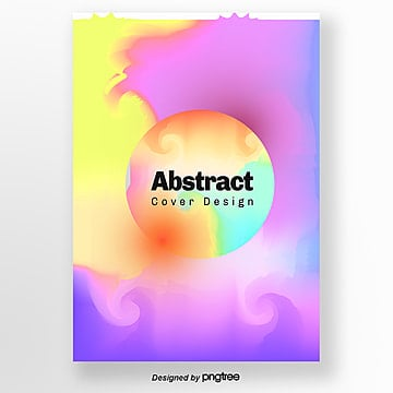 Creative yellow-purple geometric brilliant posters, Bright Colors, Geometric, Geometric Poster PNG and PSD