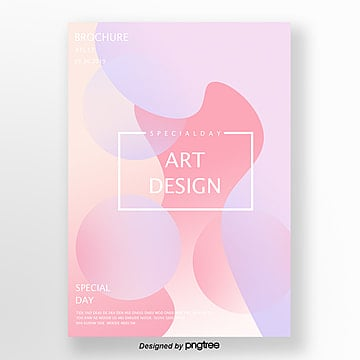 pink purple gradual bright geometric poster Template