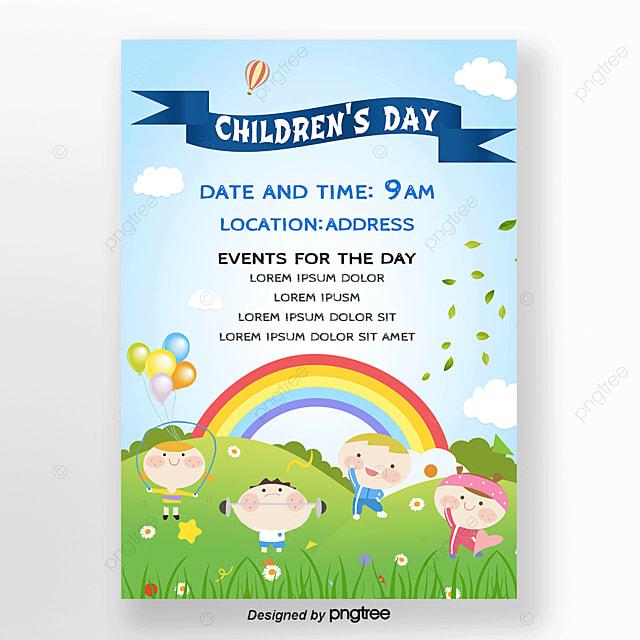 Invitaciones Para Celebrar El Día Del Niño Descarga Gratuita
