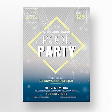 Plantillas De Gratuita Plantillas88 Diseño Party Descarga Para Pool LSqVUjzGMp