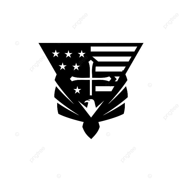 Eagle Usa Flag Cross Logo Template For Free Download On Pngtree