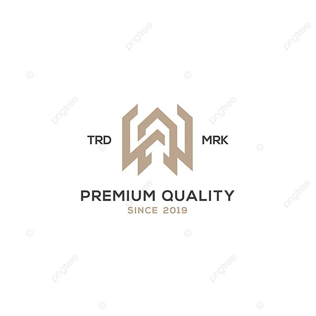 Monogramme Ah Wa Logo Dinspiration Modele De Telechargement Gratuit Sur Pngtree