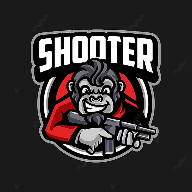 Monkey Mascot Sport Logo Template For Free Download On Pngtree