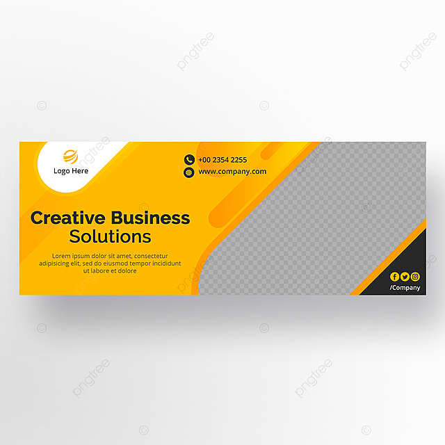 Corporate Business Facebook Cover Template for Free Download