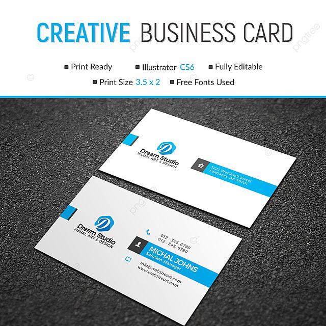 Freie Visitenkarte Design Vorlage Zum Kostenlosen Download