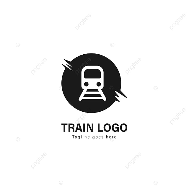 Train Logo Template Design Train Logo With Modern Frame Template
