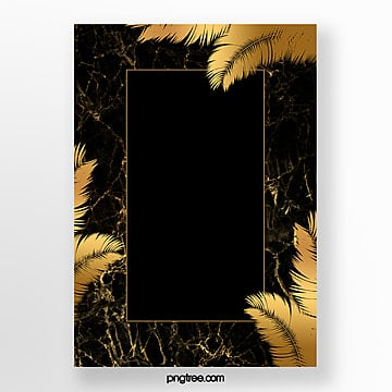 black gold marble formwork Template