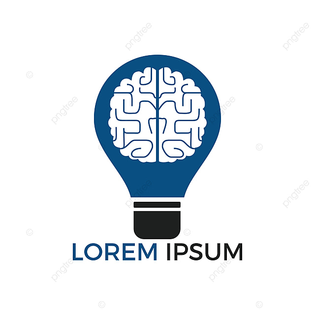 Bulb And Brain Logo Design Creative Light Bulb Idea Brain Vector Icon Template For Free Download On Pngtree
