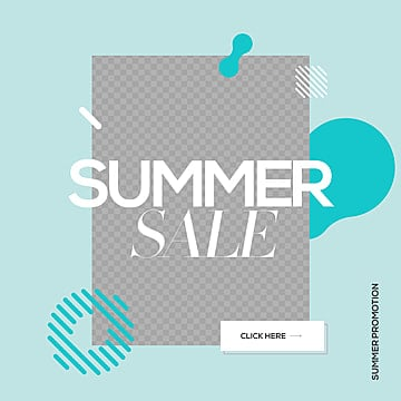 natural fresh fashion simple summer color sns advertising design Template