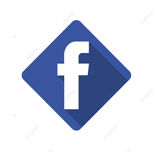 Facebook Icon PSD and PNG download Template