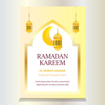 lantern ramadan flyer Template for Free Download on Pngtree