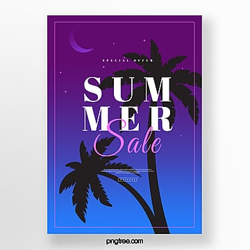 dark gradient midsummer night discount poster Template