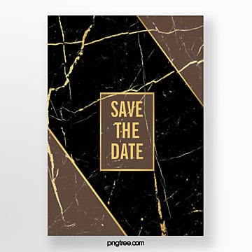 black gold marble texture line wedding abstract poster Template