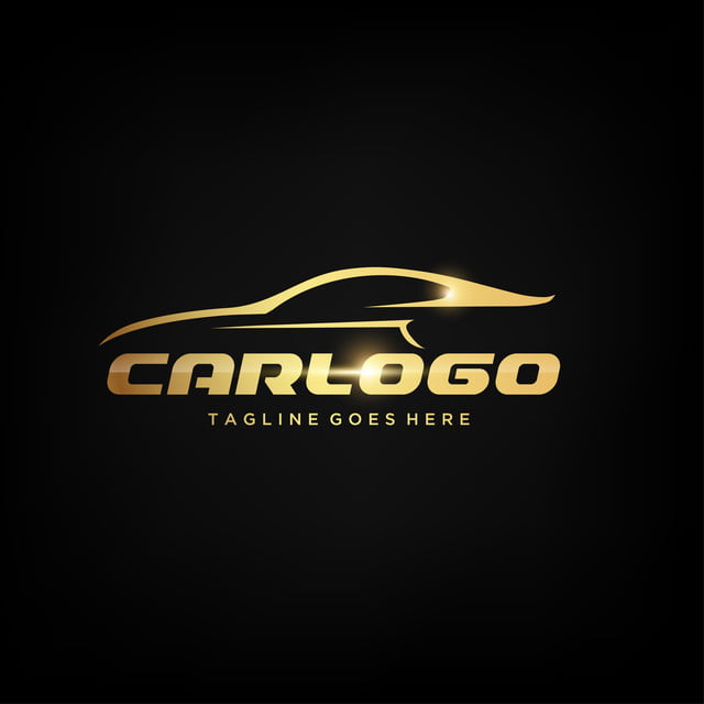 Gold Car Logo Design Template For Free Download On Pngtree
