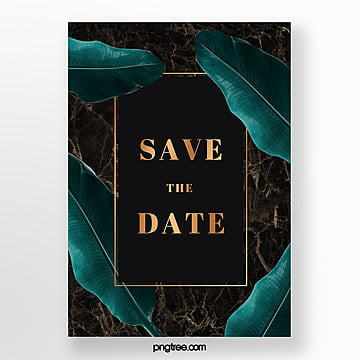 exquisite golden marble poster Template