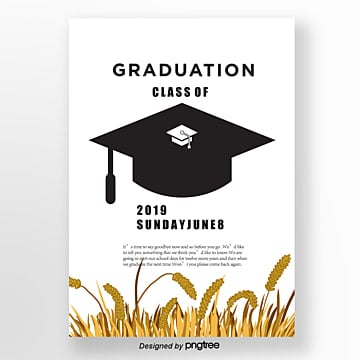 vector graduation cap template Template