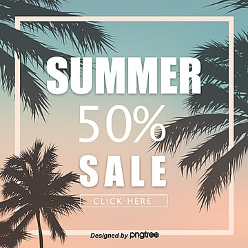 Summer promotional print posters Template