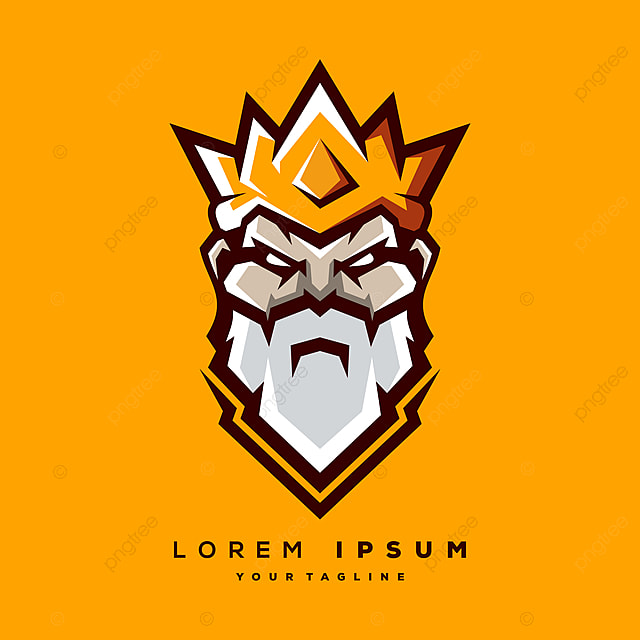 King Logo Vector Template For Free Download On Pngtree