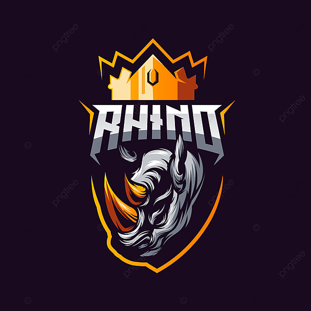 Rhino Logo Vector Template for Free Download on Pngtree