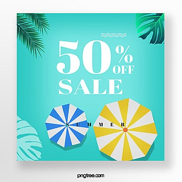 discount template for colour collision in summer Template