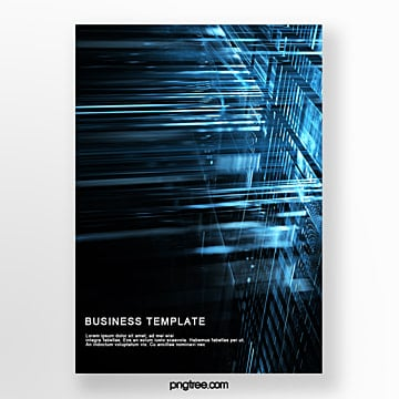 stereo business science and technology poster Template