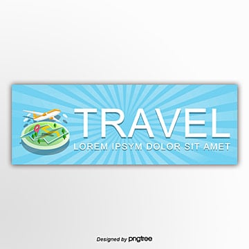 travel aircraft publicity template Template