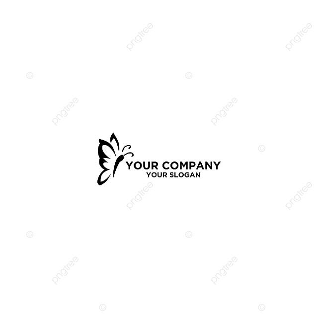 Un Tatouage En Forme De Papillon Noir Apercu Logo Modele De Telechargement Gratuit Sur Pngtree