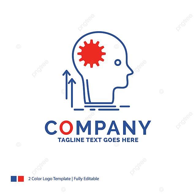 Company Name Logo Design For Mind Creative Thinking Idea Bra