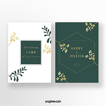exquisite emerald invitation Template
