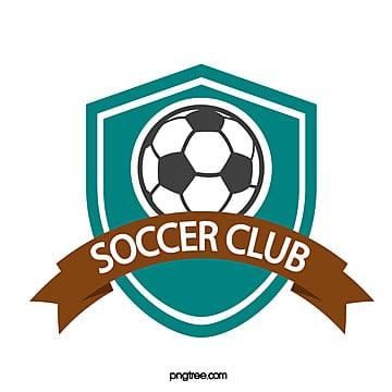 blue shield simple football club logo Template