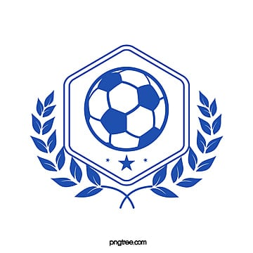 blue square football club symbol Template