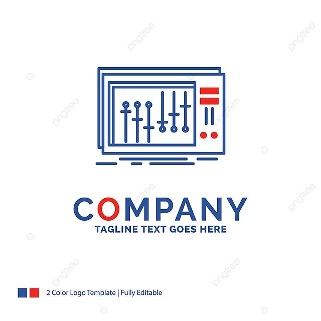 Company Name Logo Design For Console Dj Mixer Music Studio