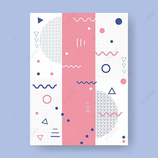Memphis Pattern 80s 90s Styles Background Vector