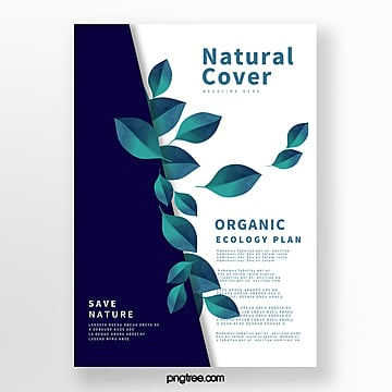 Fresh Blue Biotechnology Business Cover Template